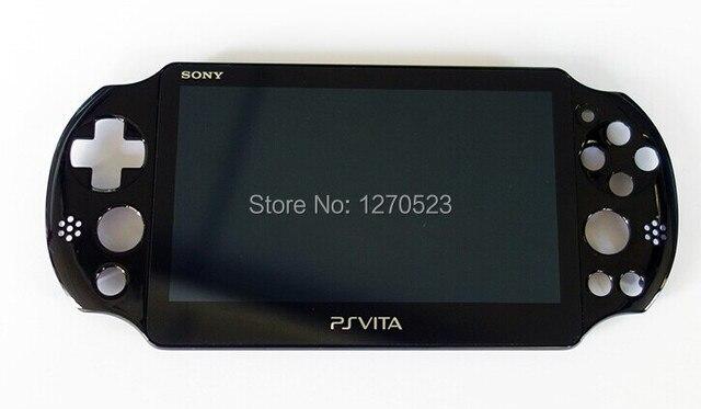 Original 100% neue für ps vita psv psvita 2 2000 display lcd screen montiert schwarz