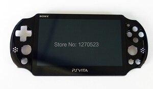 Image 1 - original 100%new for ps vita psv psvita 2 2000 display lcd screen assembled black