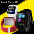 Bluetooth smart watch u8 relógio de pulso u8 smartwatch para iphone 4/4s/5/5s/6 e samsung s4/note/s6 htc android telefone smartwatch