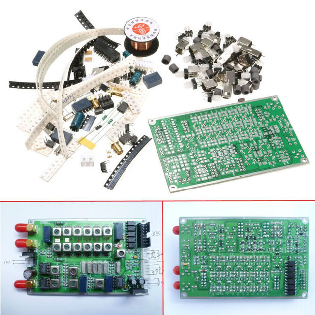 Free Shipping High Quality 6-band HF SSB6.1 Shortwave Radio Transceiver Board DIY Kit Arduino Compatible kit trainging kit