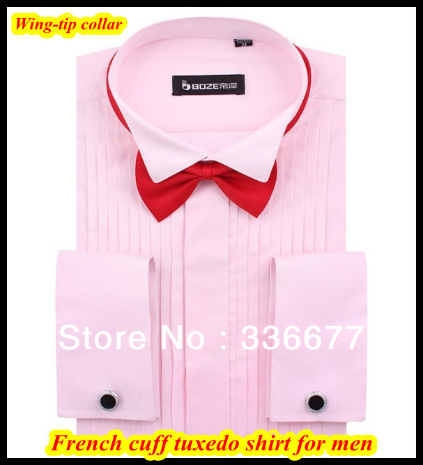 Free shipping 2013 wedding clothing mens tuxedo dress for Wing tip collar shirt