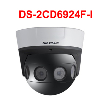 Hikvision Оригинальная английская версия DS-2CD6924F-I 8 MP PanoVu серия панорамная купольная камера