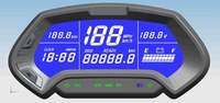CT 22 48v 144v universal digital programmable Electric electronic Motorcycle Speedometer