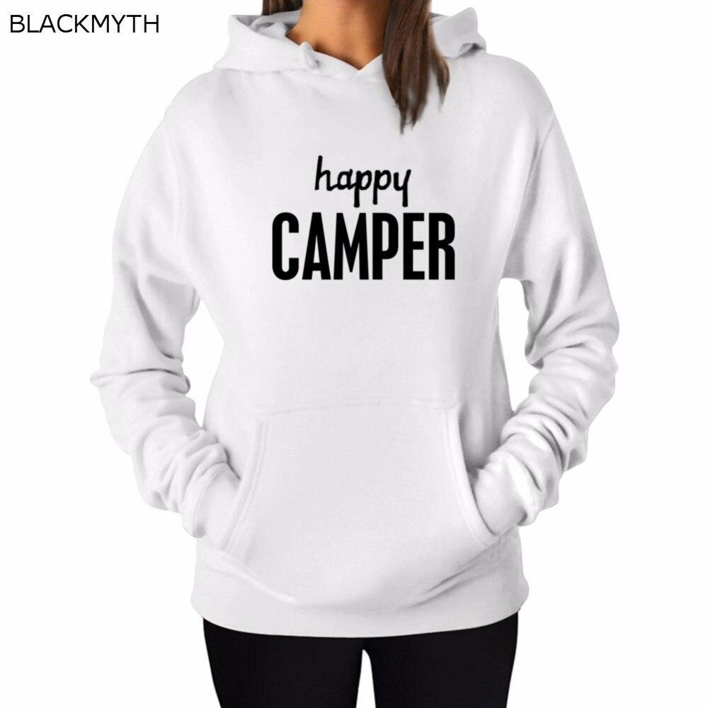 Happy Camper Donne Maglia Con Cappuccio 94tqfQ5R