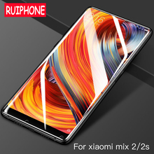 For Xiaomi Mi MIX 2 2S Tempered Glass HD Full Cover Phone Screen Protector glass xiomi mi mix2s mix s 3D protective film