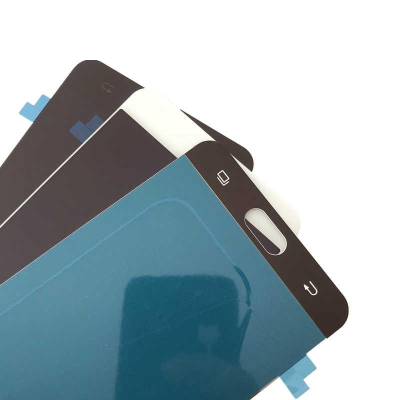 سوبر Amoled عرض لسامسونج غالاكسي A7 2016 A710 Lcd مجموعة المحولات الرقمية لشاشة تعمل بلمس A7100 A710F A710M 5.5 بوصة استبدال