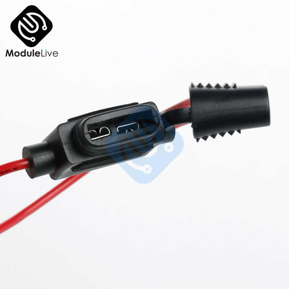 Sesuai Standar Mobil Blade Fuse Holder SPLASH BUKTI Kotak Sekering untuk 12V 30A Sekering untuk Mobil Alat DIY