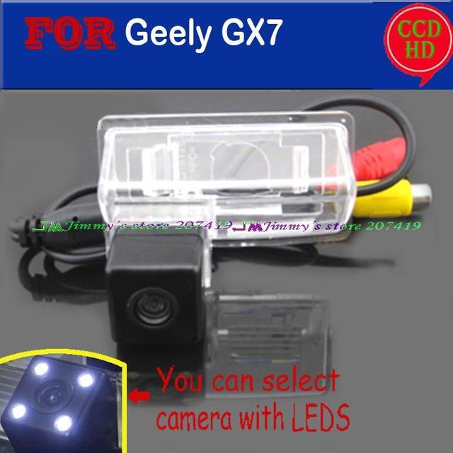 Fio à prova d' água grande angular para sony ccd sem fio visão sc7 geely gleagle gx7 sx7 emgrand ec7-rv câmera de visão traseira