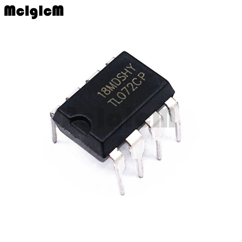 10PCS TL072CP DIP8 TL072 DIP TL072CN New And Original IC