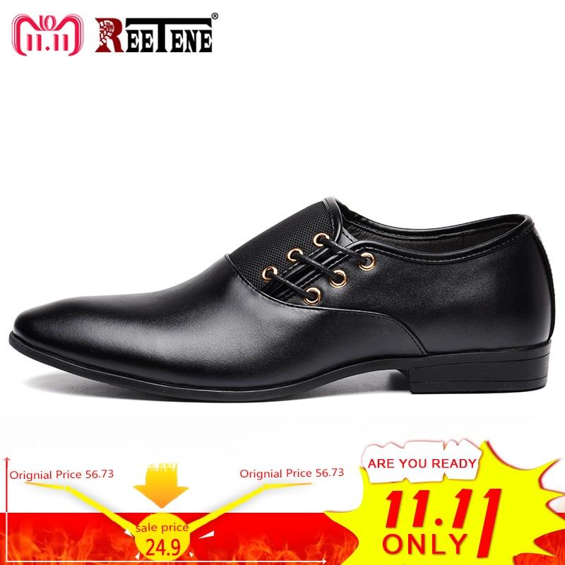 Plus Size 38-47 Fashion Leather Men Oxford, Casual Simple Men Dress Shoes, High Quality Genuine Leather Oxford Shoes For Men oxford borboniqua oxford