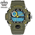 SMAEL Brand Watches Men's Fashion Quartz Digital Watch Men Waterproof Military Sport Style Dual Display Clock Relogio Masculno