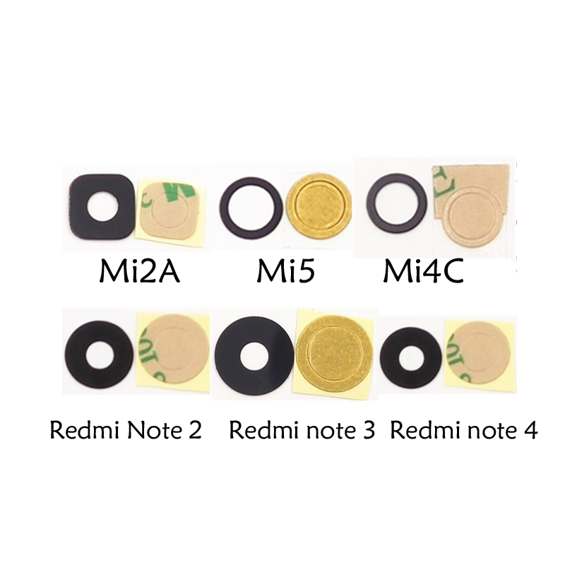 Mobile Phone Parts New Fashion 1set New High Quality Rear Camera Glass Lens Lenses And Lens Lens Sticker For Xiaomi 2 2s 2a 3 4 5 Mi3 Mi4 4c Mi5 Note Cellphones & Telecommunications