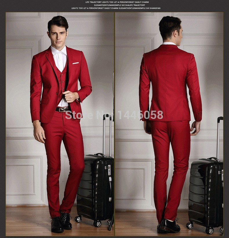 Compare Prices on Men Red Skinny Suits- Online Shopping/Buy Low