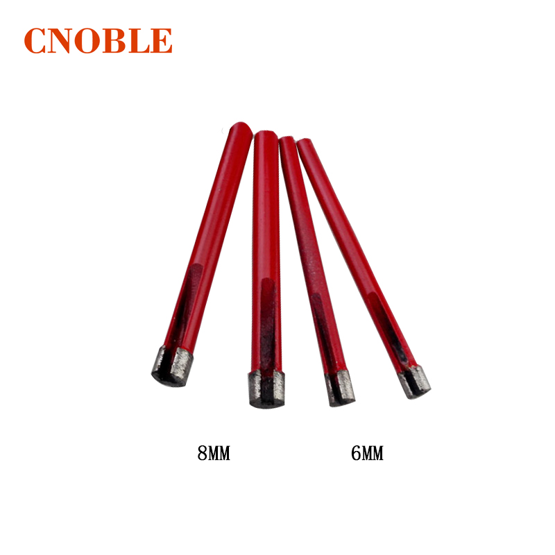 6-8mm Marble Cutters Granite Stone Tiles Glass Floor Tile Drills Sintered Diamond Drilling wood working tool kit 12mm shaft diamond grinding head for marble granite stone and tiles glass at good price export quality