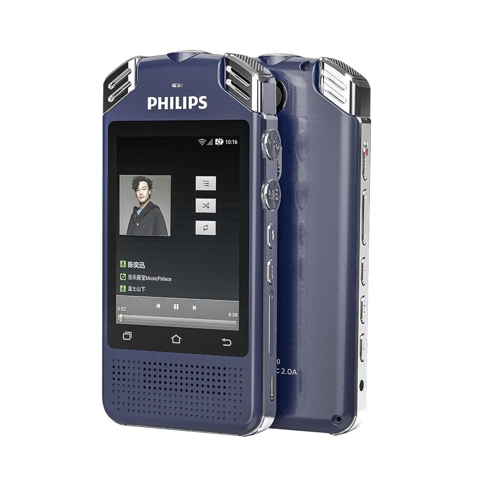 Philips WAV WIFI 4G son enregistreur vocal numérique professionnel voix à texte Dictaphone avec fonction traducteur de langue VTR8080