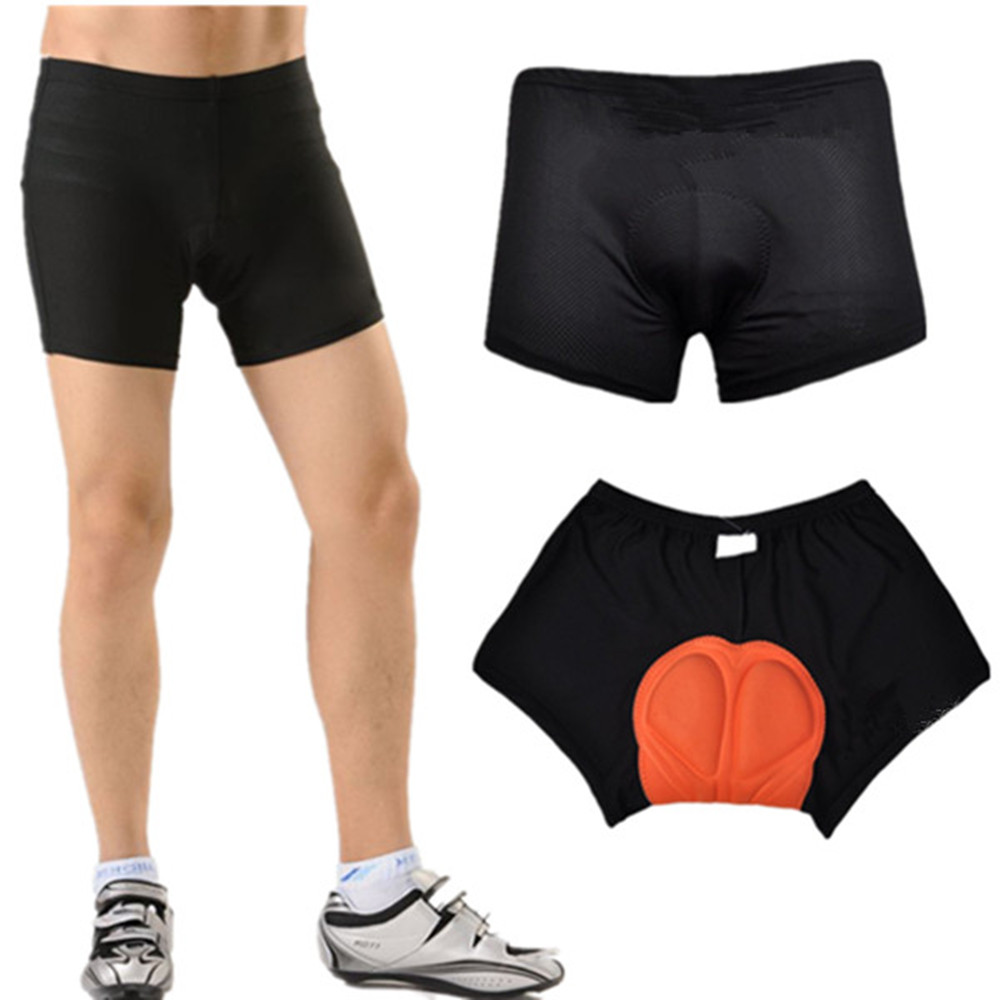 Men Cycling Bicycle Sports Shorts Underwear 3D Sponge Padded Riding Pant Outdoor