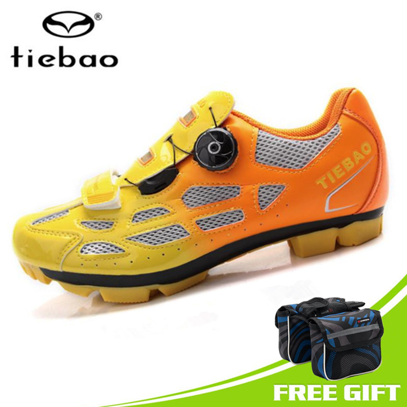 Tiebao Men Cycling Shoes Mountain Bike Breathable Shoes Non-slip MTB Bicycle Shoes Sneakers zapatos ciclismo superstar shoes racmmer cycling gloves guantes ciclismo non slip breathable mens