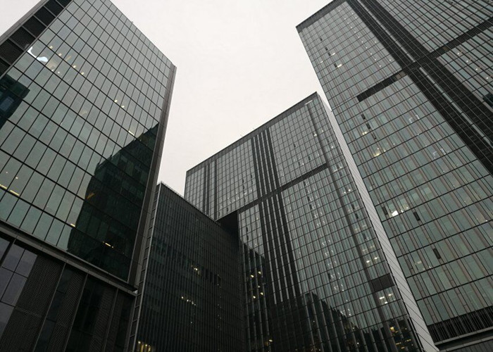 Construction Seal Glass Curtain Wall Penetrations - Double Penetration-7389