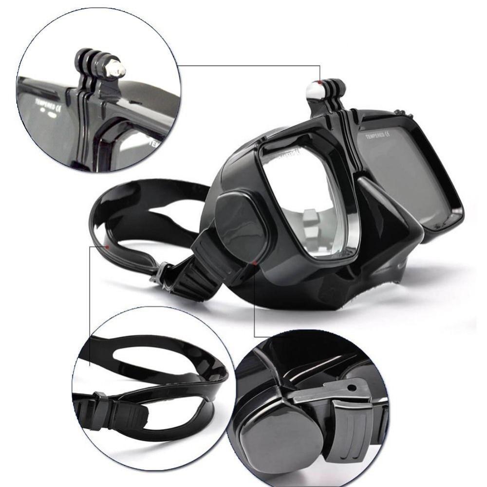Vendita calda per ZJM Camera Mount Diving Mask Scuba Snorkel Occhiali - Macchina fotografica e foto
