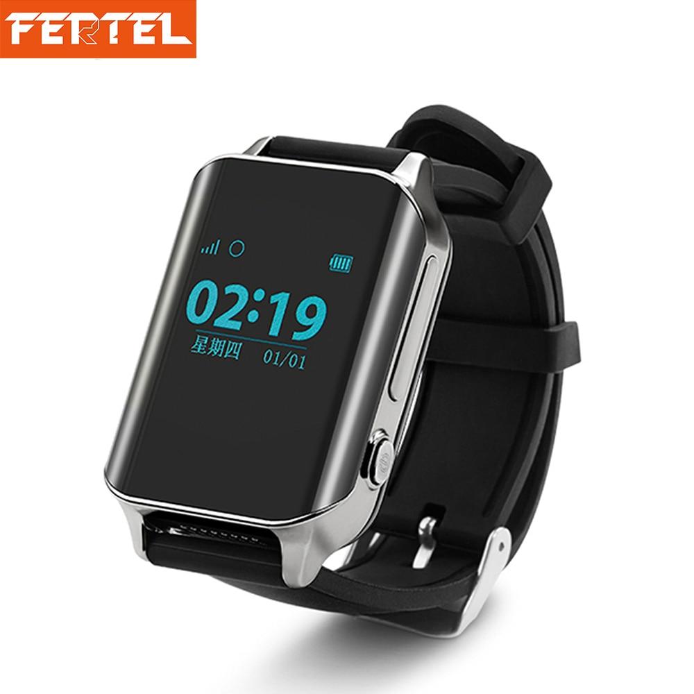 GPS Kid Smart Watch Support Hjärtfrekvens GSM / SIM-kort / SOS - Smart electronics