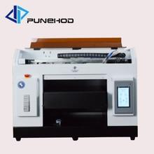 Малый A3 УФ струйный принтер для футболок печатная машина принтер с хорошим эффектом печати