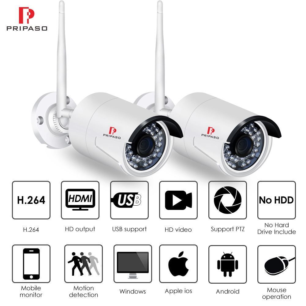 Video Surveillance Wifi Camera Outdoor 1080p Micro Sd Slot Ip Camera Hd Security Surveillance Camera Wireless Waterproof 2mp Cctv Cam Ip P2p Rj45 Commodities Are Available Without Restriction