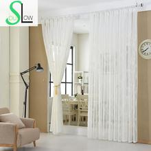 Slow Soul White Cotton Curtain French Window Embroidered Floral Curtains For Living Room Cortinas Tulle Kitchen Sheer Bedroom slow soul white blue yellow jasmine curtain fabric embroidered floral kitchen curtains for living room tulle bedroom and luxury