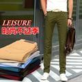 Мода Летние Мужчины Хлопок брюки Удобные брюки Мужские jogger брюки случайные прямые брюки плюс размер 28-38 Бесплатная Доставка
