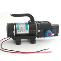 100w 8L/min automatic pressure switch portable high pressure self priming mini dc 12 volt diaphragm water pumps sprayer pump