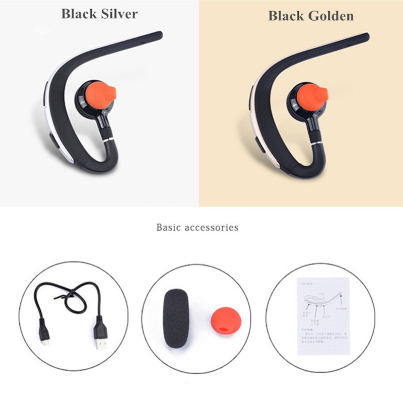new bluetooth earphone sport bluetooth headset wireless music earbuds handsfree with microphone. Black Bedroom Furniture Sets. Home Design Ideas