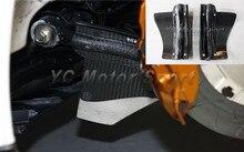 Cheap price Car Accessories Carbon Fiber Air Deflector 2pcs Fit For 2008-2015 R35 GTR Air Deflectors (for Rear Brakes Calipers)