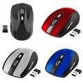 Новый 2.4 ГГц Беспроводная Оптическая Мышь/Мыши С USB 2.0 Приемник для Портативных ПК