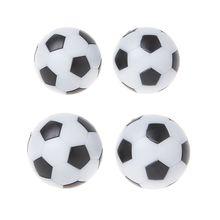 OOTDTY 2 шт смоляный Настольный футбольный мяч для игры в помещении Fussball футбол 32 мм 36 мм