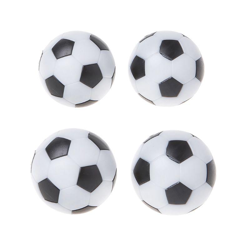 OOTDTY 2pcs Resin Foosball Table Soccer Ball Indoor Games Fussball Football 32mm 36mm