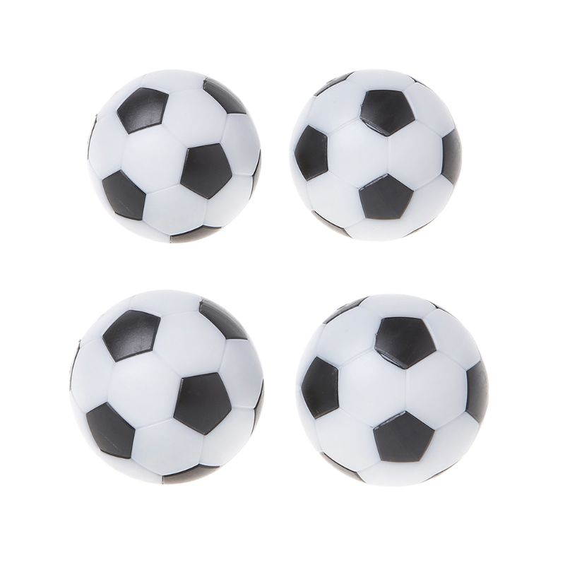 OOTDTY 2pcs Resin Foosball Table Soccer Ball Indoor Games Fussball Football 32mm 36mm image