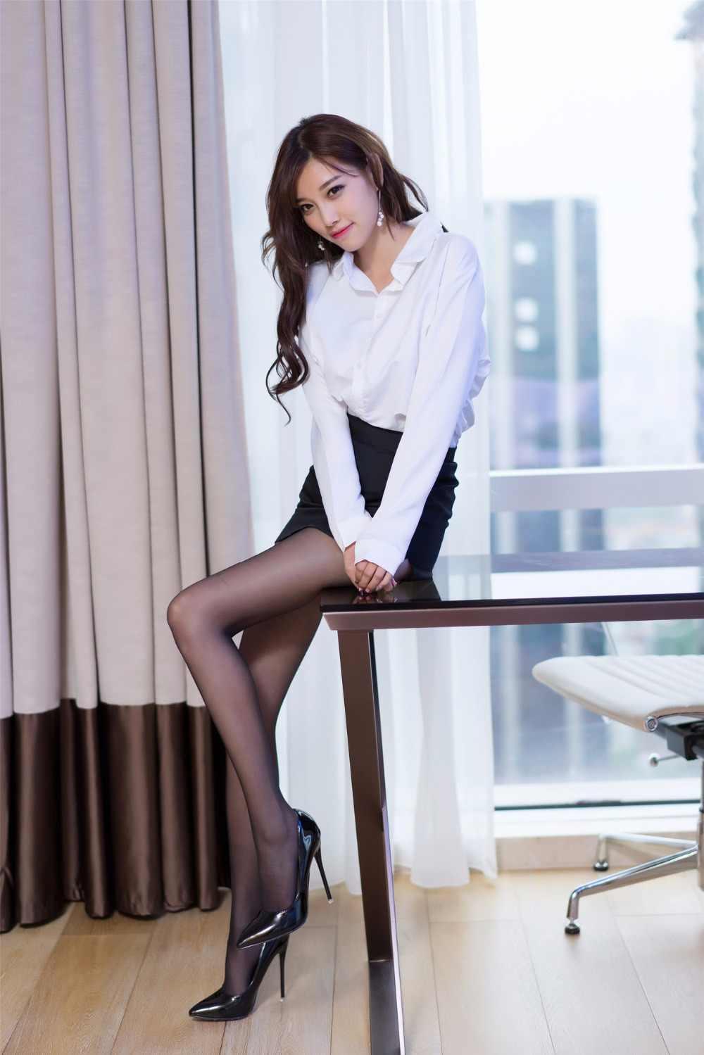 33677c79d Mujeres señora Sexy Secretaria uniforme tentación camisa falda ...