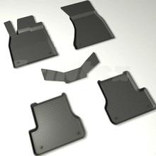 Для Audi A6 C7 2011-2019 резиновые коврики в салон автомобиля 5 шт./компл. Seintex 86698