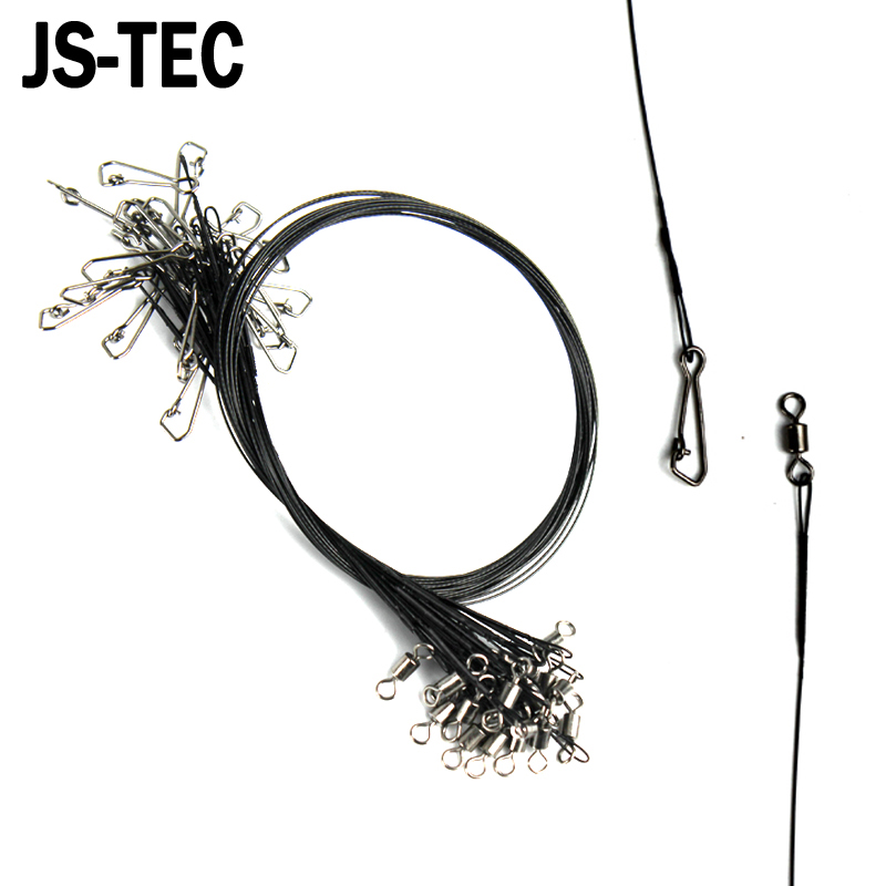 72 pcs Stainless Steel Wire Leader 15cm 23cm 30cm