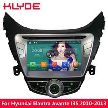 KLYDE Octa Core Android 8,0 4 ГБ Оперативная память 32 ГБ Встроенная память DVD мультимедиа плеер радио для hyundai Elantra Avante i35 2010 2011 2012 2013