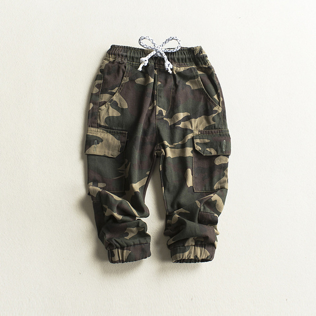 8883722a424b Children Cargo Pants Baby Boys Camouflage Trousers Kids Child Casual Pants  Green Army Camouflage Fashion Cotton Harem Pants