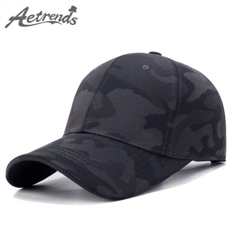 [AETRENDS] Baseball cap camouflage summer hat camo men tactical branded baseball caps snapback stranger things Z-6443