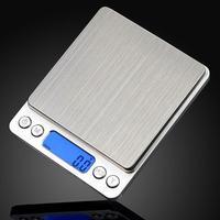 1000 г/0,1 г ЖК-дисплей электронный Кухня мини весы Нержавеющая сталь цифровой точность ювелирные весы устройства с Подсветка