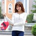 Простой белый Черный Поло Рубашки Хлопок Quick Dry Поло женщины Плюс Поло 4xl Поло Кнопку Вниз Рубашки С Длинным Рукавом Blusa