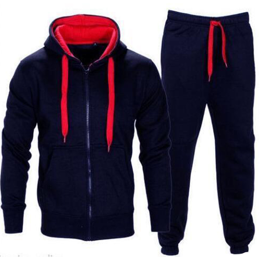 New Autumn  Tracksuits Men Set Hoodies + Pants Suit Spring Sweatshirt Sportswear Set Male Hoodie Sporting Suits 2Pcs