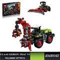 EN STOCK LEPIN 20009 1977 unids serie técnica El tractor Modelo bloques de Construcción de Juguete Ladrillos Compatibles 42054