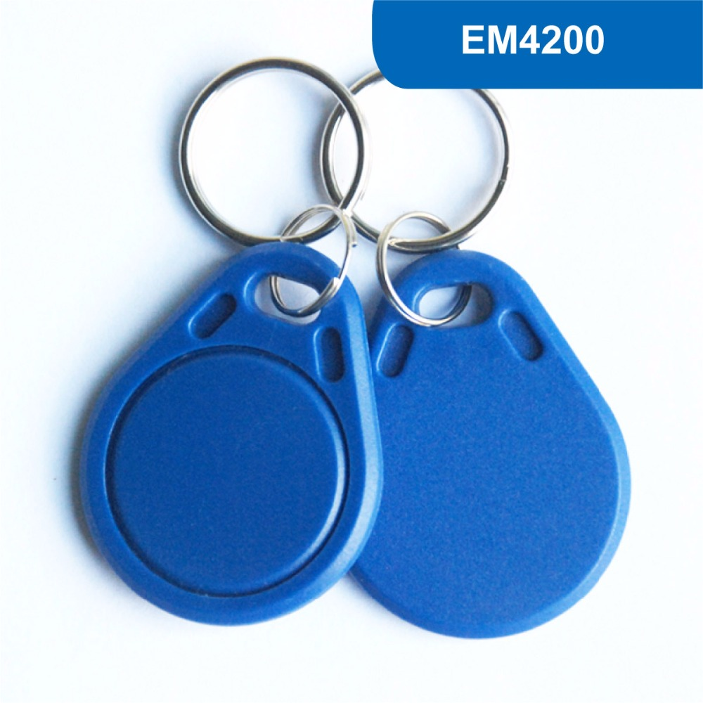 KT03 RFID Key Tag, RFID Key Fob for access control, ID Smart Tag, 125 kHz Keytag Type Proximity Card  With EM4200 Chip