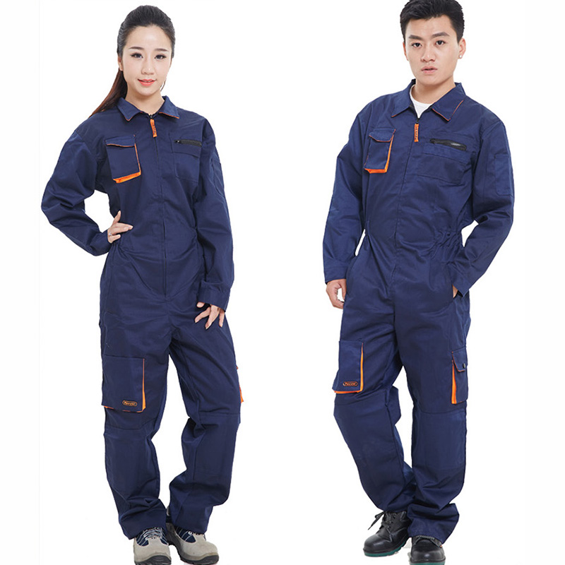 Work Clothing Men Women Long Sleeve Coveralls High Quality