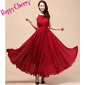 New summer Maternity Dresses long Chiffon Bohemian Dress Clothes For Pregnant Women Maternidade Pregnancy summer Clothing