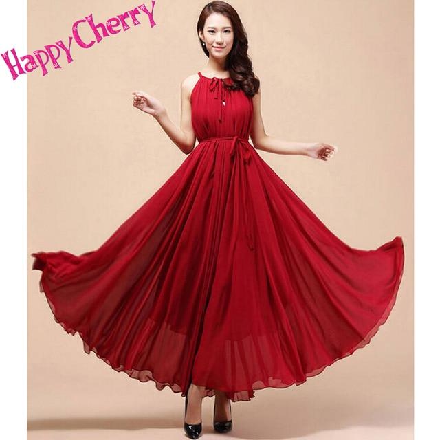 49fba4eb0e846 New summer Maternity Dresses long Chiffon Bohemian Dress Clothes For Pregnant  Women Maternidade Pregnancy summer Clothing