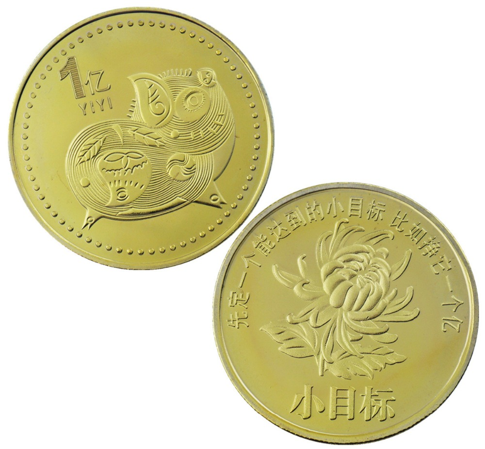 2019 фу свинья Юбилейная монета год свинья доставляет деньги монеты Коллекция новый год подарок золото посеребренные новый стиль